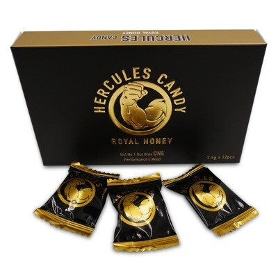 Hercules Honey Candy-12 Candies X 3.5gram