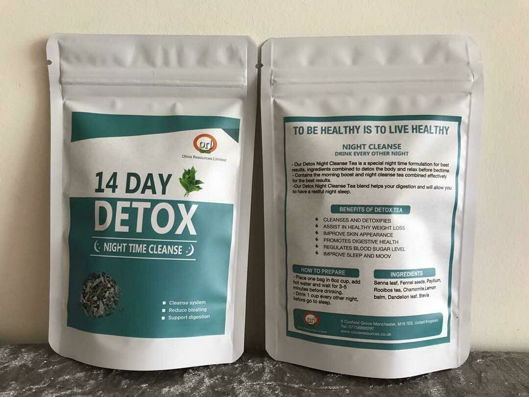 14 Day Detox (Night Time Cleanse) Tea