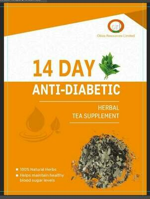 14 Day Anti-Diabetic Tea