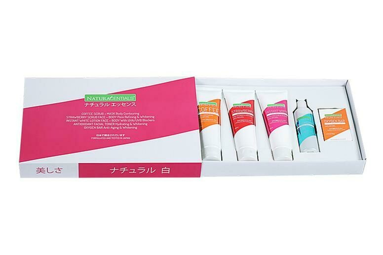 Naturacentials Beauty Gift Box.