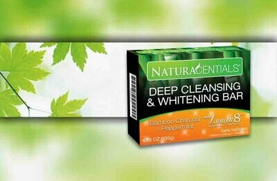 Naturacentials Deep Cleansing and Whitening Bar Soap.