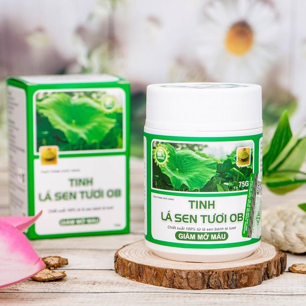 OB Fresh Lotus Leaf Herbal Tea.