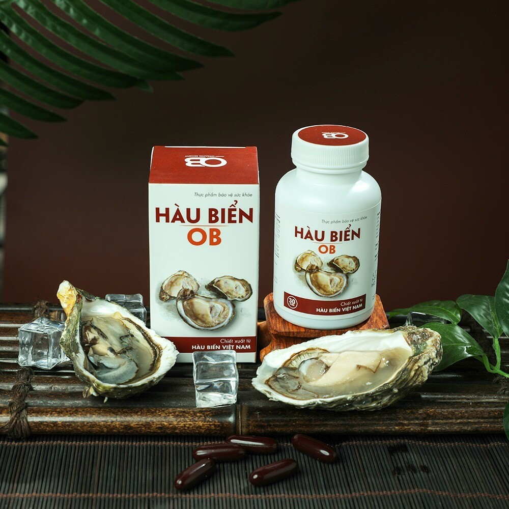 OB Oyster Herbal Erectile Dysfunction Supplement. 30 Capsule.