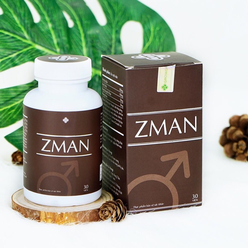 ZMAN- Erectile Dysfunction Men Sexual Enhancement. 30 Capsules.