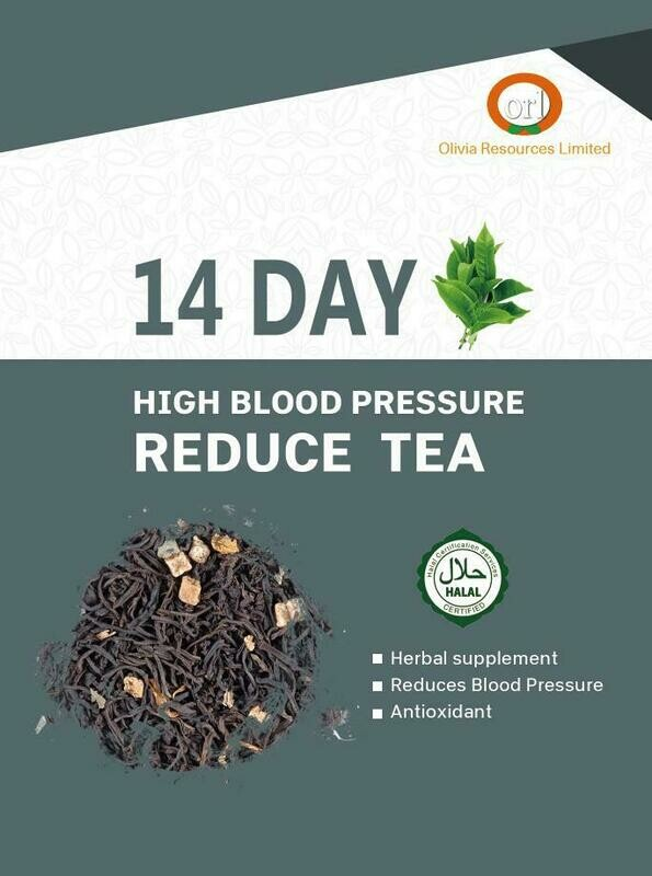 14 Day High Blood Pressure Reduce Tea