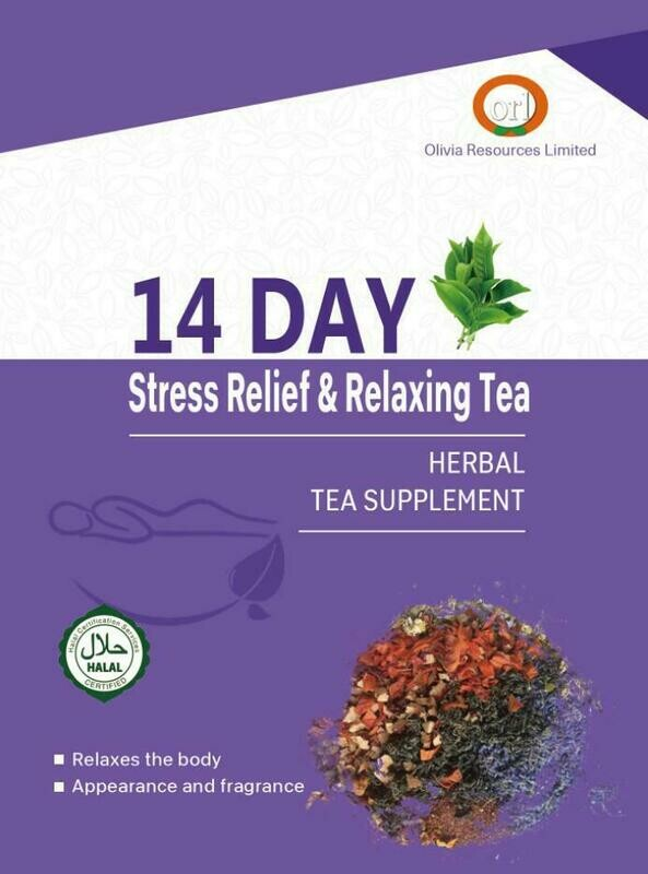 14 Day Stress Relief & Relaxing Tea