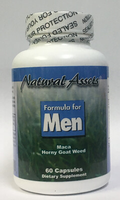 Formula for Men (Natural Assets )- Erectile Dysfunction.