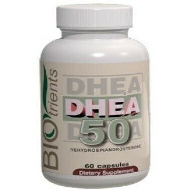 DHEA 50 (dehydroepiandrosterone)50mg / 60-capsule Dietary Supplement