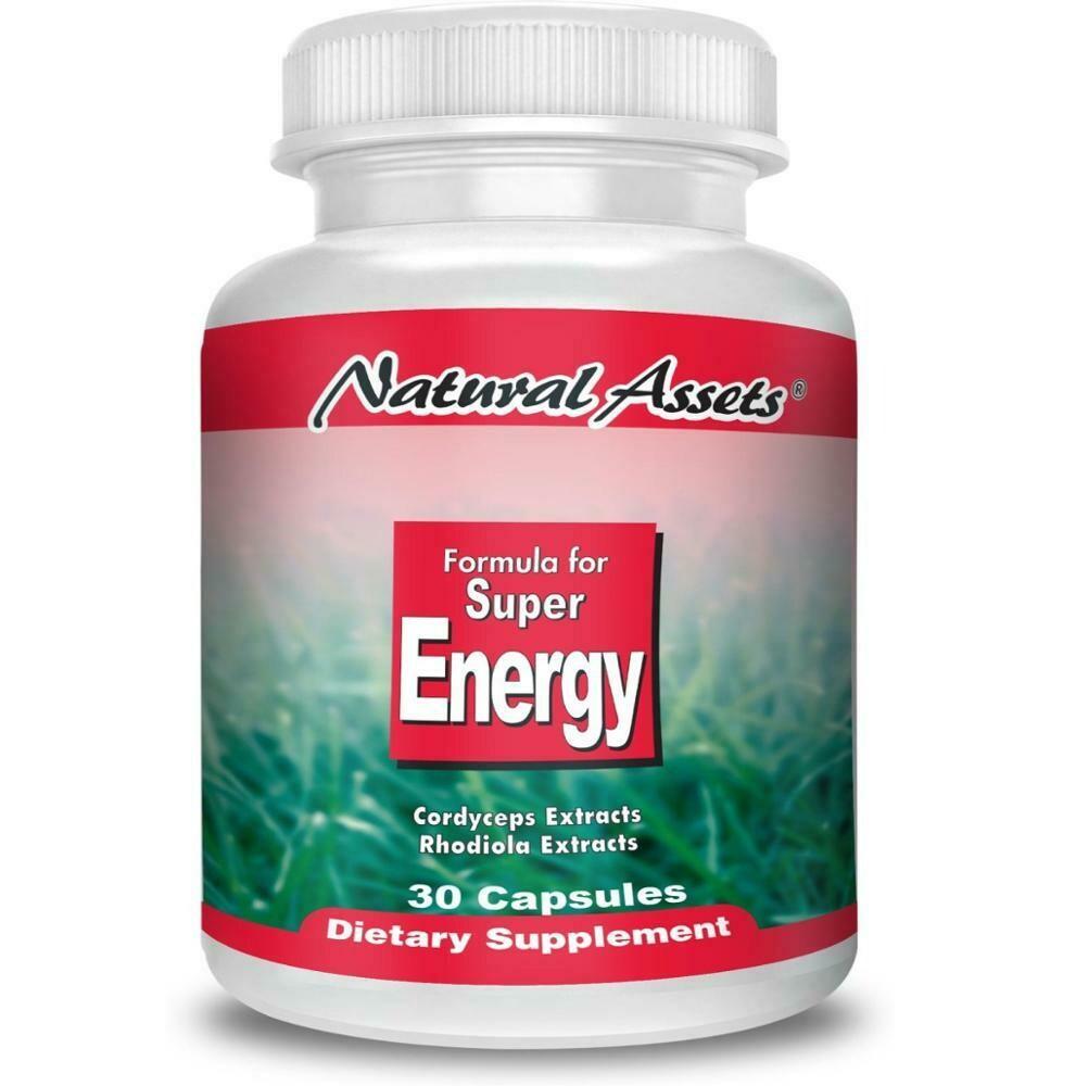 Formula for Super Energy-Natural Assets  60-capsule