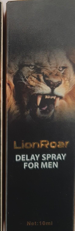 Lion Roar DELAY SPRAY FOR MEN 10ml -100 % Herbal