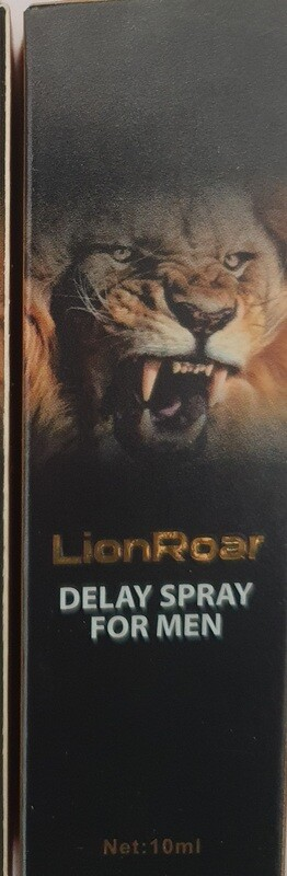 Lion Roar DELAY SPRAY FOR MEN 10ml -100 % Herbal