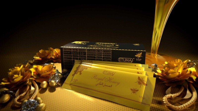 Royal Honey VIP Etumax-12 sachets (10g each) in 1 box.