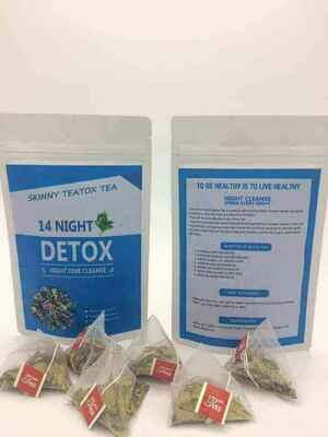 14 Day Detox (Morning Boost) Tea.