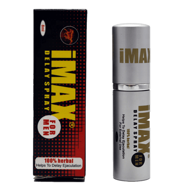 IMAX Herbal Delay Spray For Men. 8ML