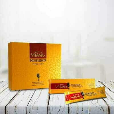 Vitamax  Doubleshot  Energy Coffee -HALAL 10 x (20g) Sachets