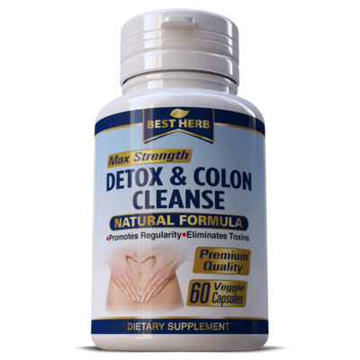 Colon Detox Cleanse Weight Loss Slimming Fat Burner Pills