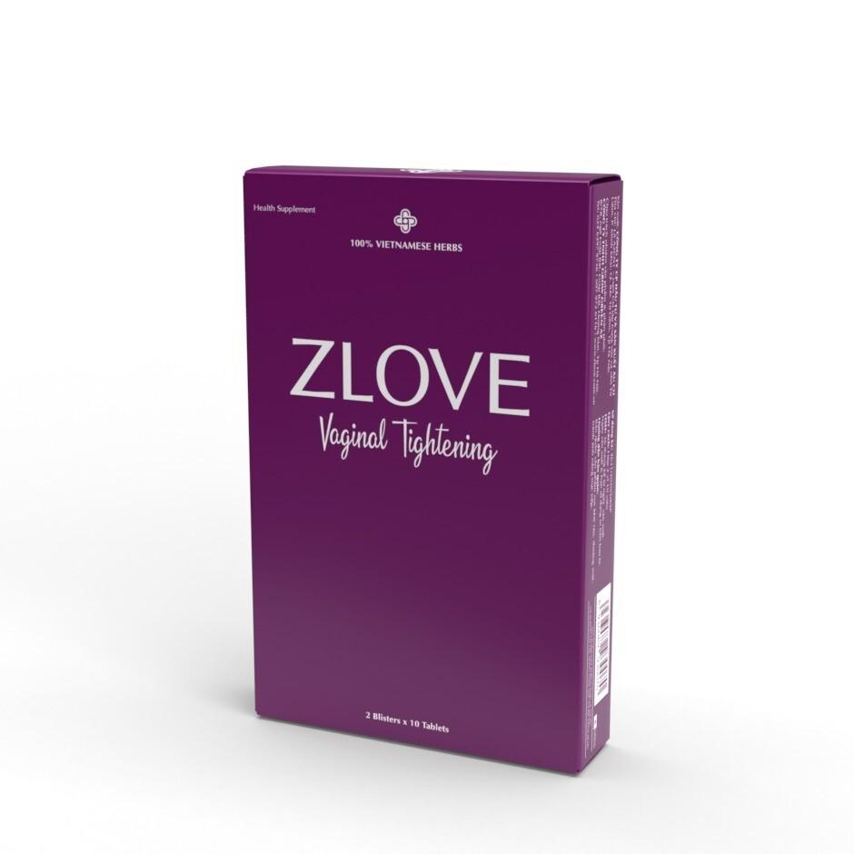 ZLOVE Vaginal Tightening Pills.  ( Blister Pack ) 620 mg