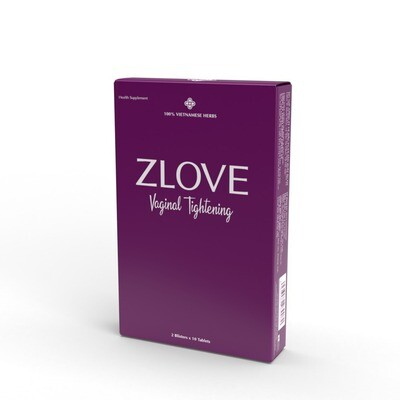 ZLOVE Vaginal Tightening Pills.  ( Blister Pack ) 620 mg