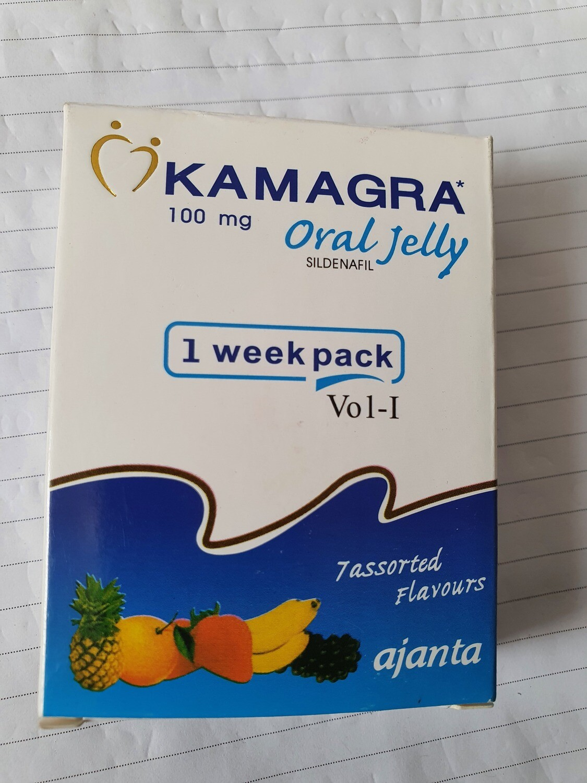 KAMAGRA Oral Jelly Sildenafil-100mg