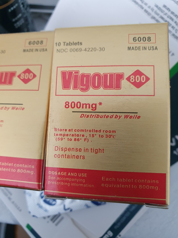 Vigour 800 Gold Healthy Male Sex Drive Tablets