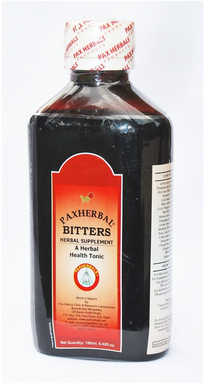 Paxherbal Bitters Health Tonic.