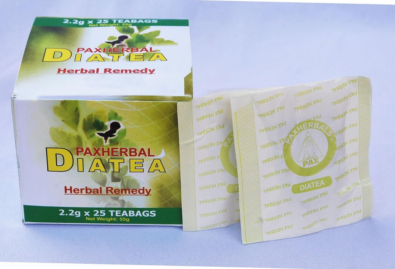 Paxherbal Diatea for diabetes (2.2g x 25 Tea Bags)