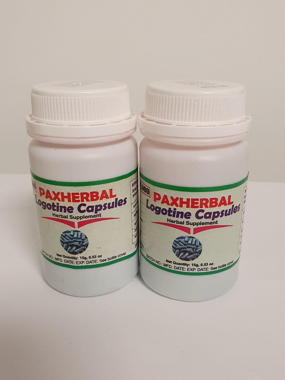 PAXHERBAL Logotine Capsules for Arthritis and Rheumatic pain
