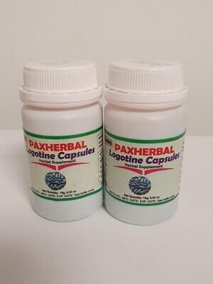 PAXHERBAL Logotine Capsules Herbal Supplement for Arthritis and Rheumatic pain