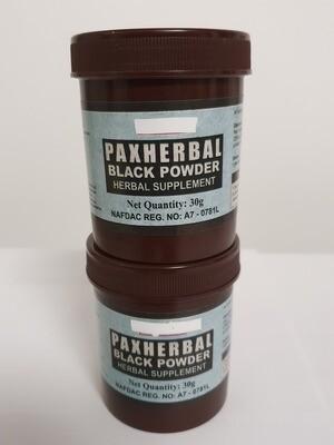 Paxherbal Black Powder for Gastritis and Diarrhoea