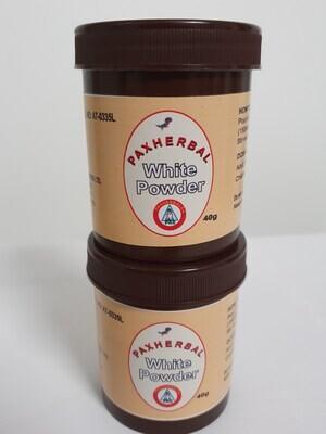 PAXHERBAL White Powder-Stomach Ulcer and mild-to-moderate diarrhea Remedy
