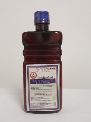 Paxherbal Solution P – for Piles and Hemorrhoids