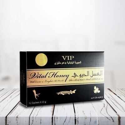 VIP VITAL HONEY.with Caviar & Tongkat Ali Powder-