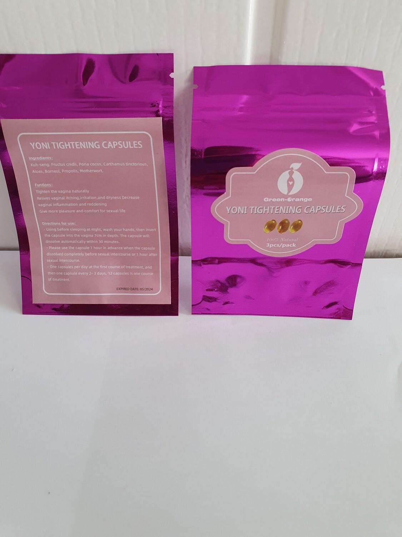 Yoni Vaginal Tightening Capsules 3pcs/pack