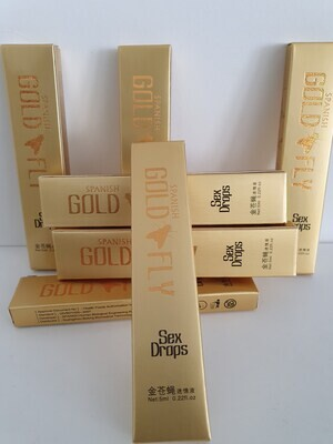 Spanish Gold Fly Female Libido Booster Supplement  1 x 5ml* 0.22fl.oz