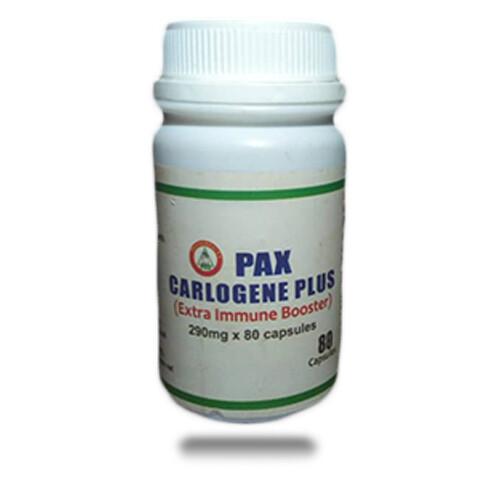 PAX CARLOGENE PLUS(Extra Immune Booster) 290mg x 80 capsules.