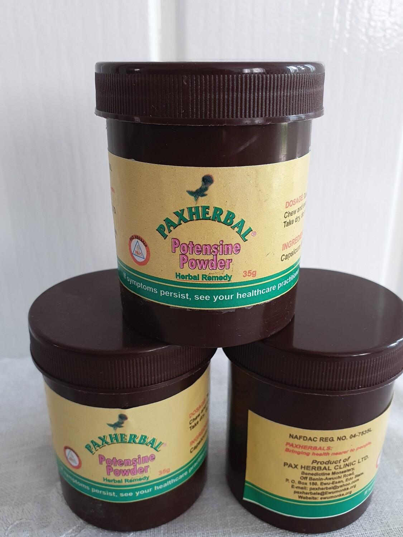 Paxherbal Potensine Powder for Libido Enhancement- For Men & Women