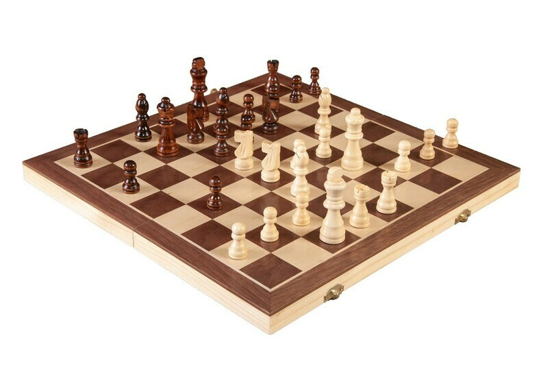 Wood Travel Chess