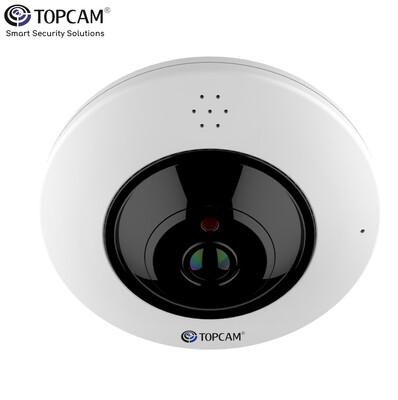TOPCAM® Panoramic IP Cam 4MP POE 360°  Model : Top-LMDES600
