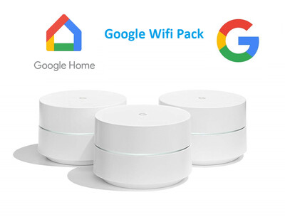 Google WiFi System 3-Pack Router Mesh Technology NLS 1304