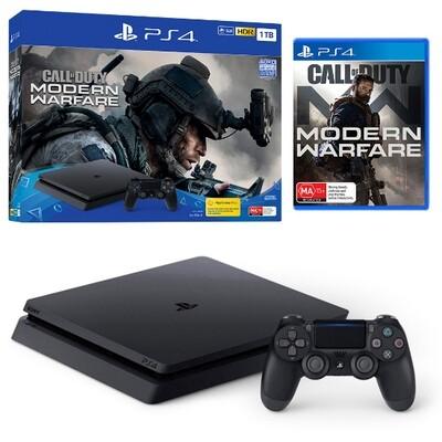PS4 PlayStation 4 Call of Duty Modern Warfare Dark Edition