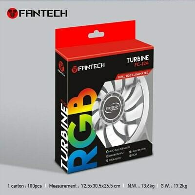 RGB Fan Fantech FC124 Turbine Gaming PC FAN