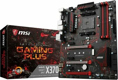 Motherboard MSI X370 AMD Cpu Required Gaming Plus Professional Supports Mining