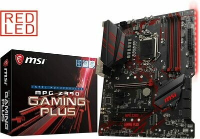 MSI MPG Z390 Gaming Plus LGA1151 (Intel 8th and 9th Gen) M.2 DDR4 HDMI DVI  Z390 Gaming & Mining Motherboard