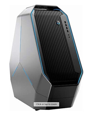 Alienware Area 51 R5 Gaming Desktop Core I7 8720X Water Cooling 64GB Ram Nvme 512GB RTX 2080Ti RGB Case