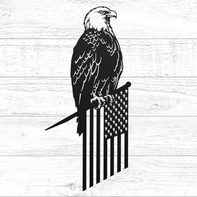 Metal American Freedom Eagle