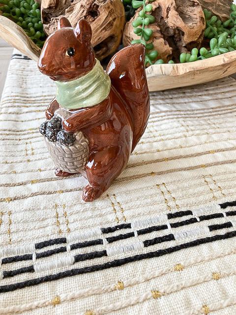 Ms. Squirrel Figurine