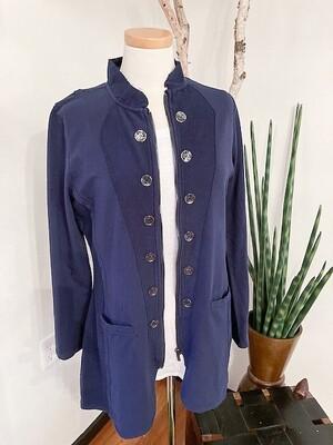 Lulu B Knit Military Jacket
