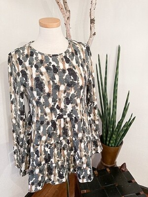 Aryeh Multi Tier Knit Top