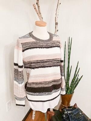 Tribal Crew neck Sweater