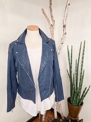 Lysse' Faux Leather Jacket